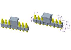 8P Pogo Pin 连接器